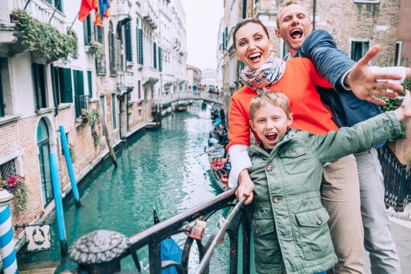 famiglia-a-venezia