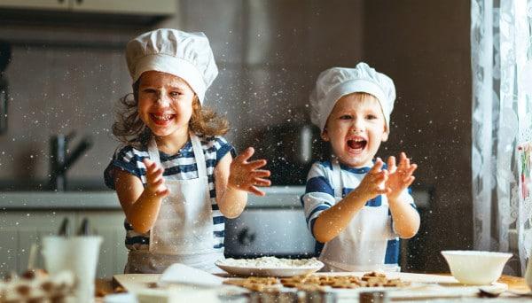bambini-in-cucina