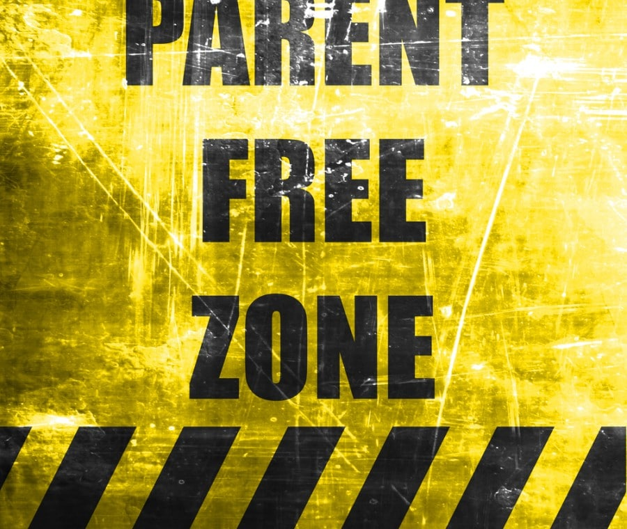 parent-free-zone