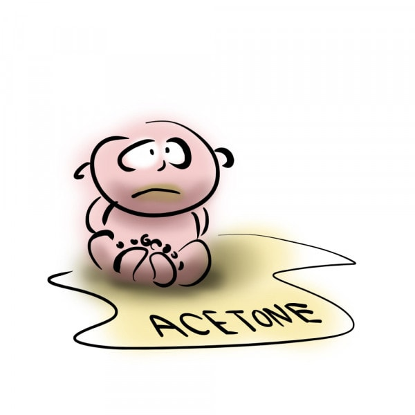 acetone-bambino