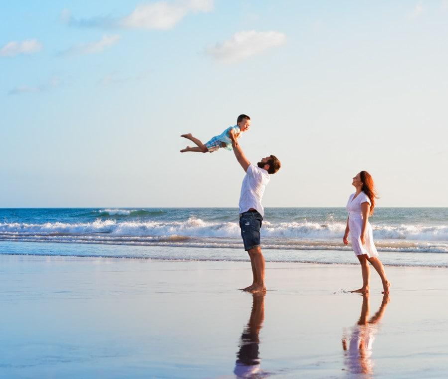 famiglia-vacanza-relax