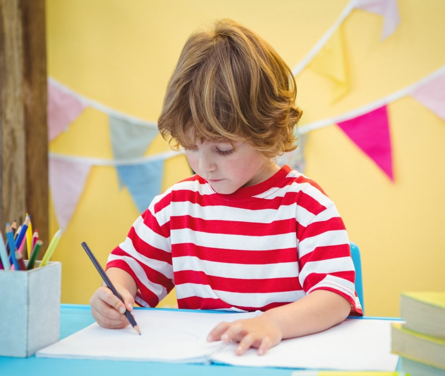 bambino-scrive