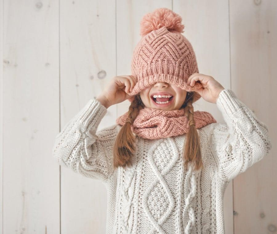 bambina-inverno