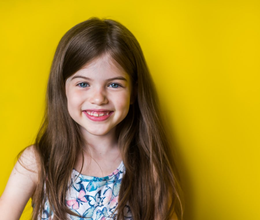 bambina-sorridente