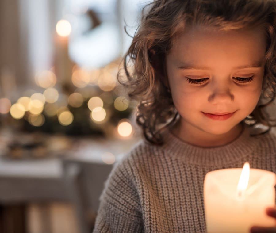 bambina-candela