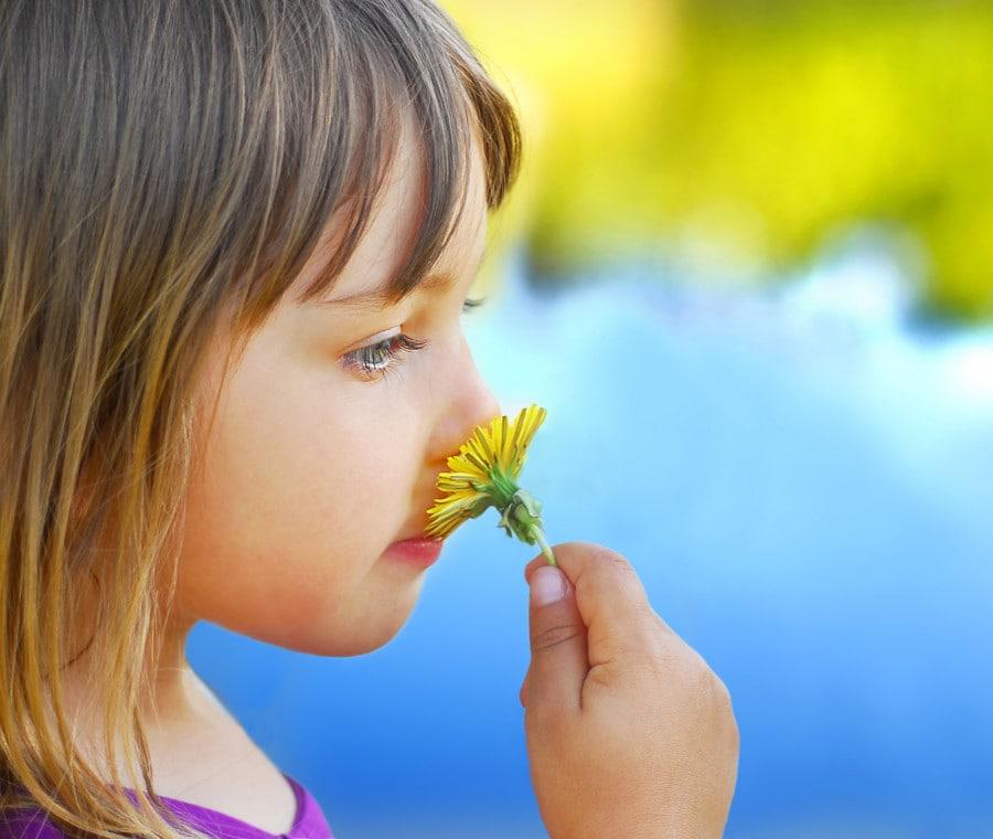 bimba-con-fiore