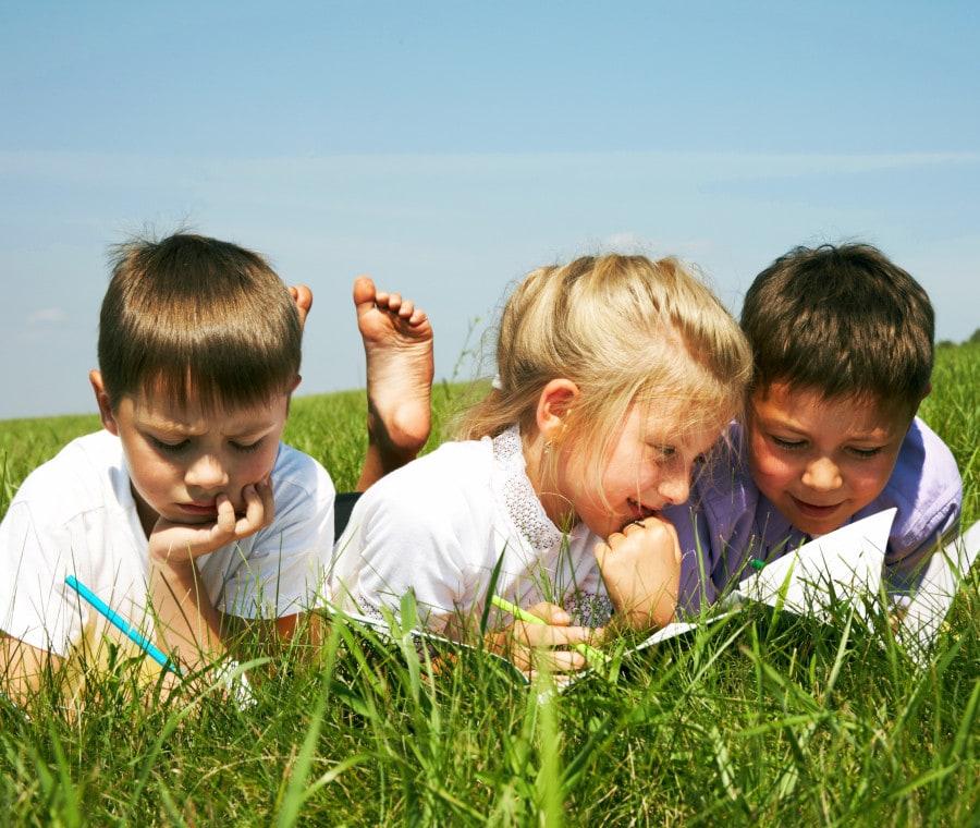bambini-in-estate