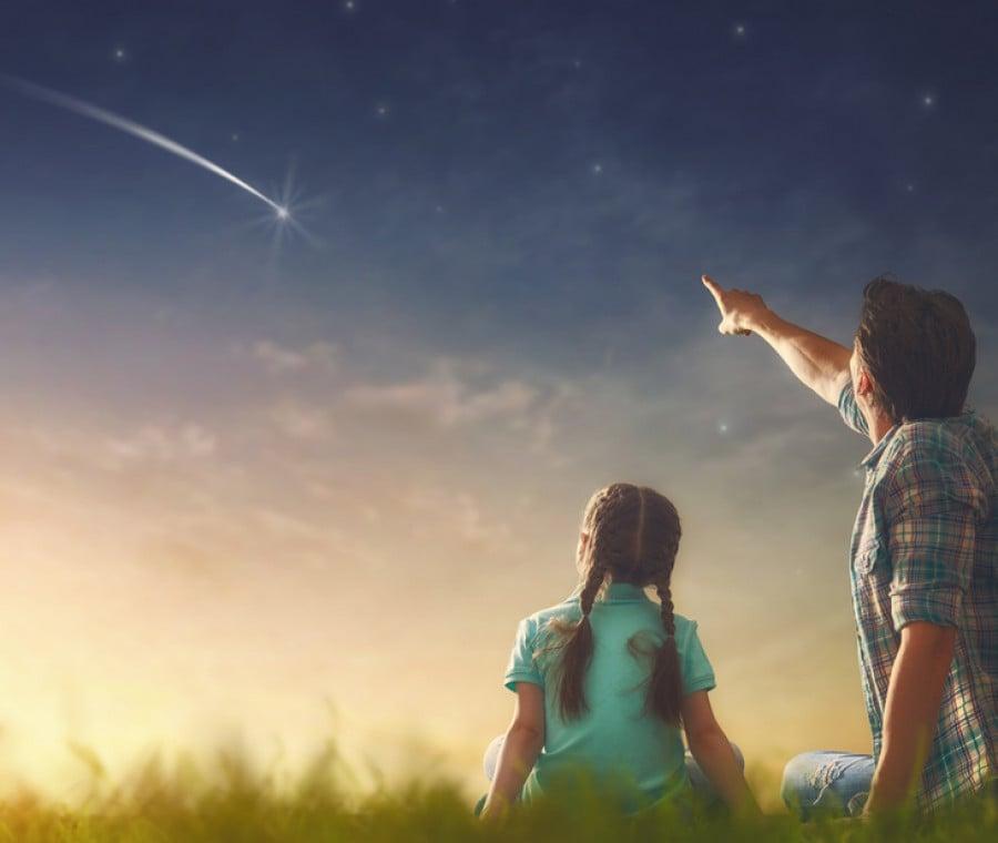guardare-le-stelle-cadenti-con-i-bambini