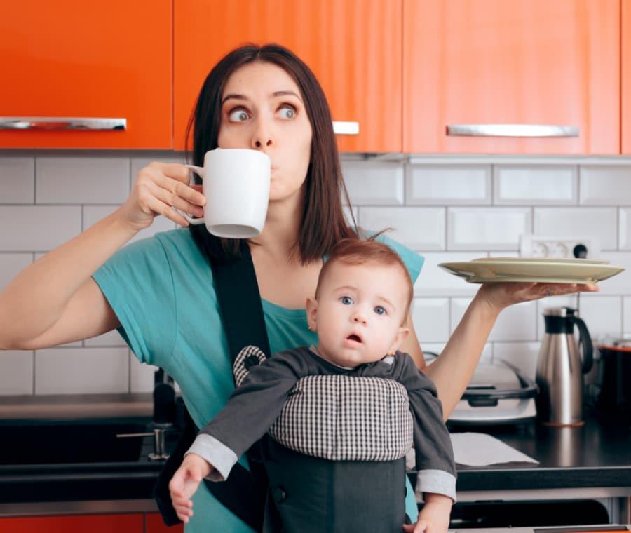 mamma-multitasking