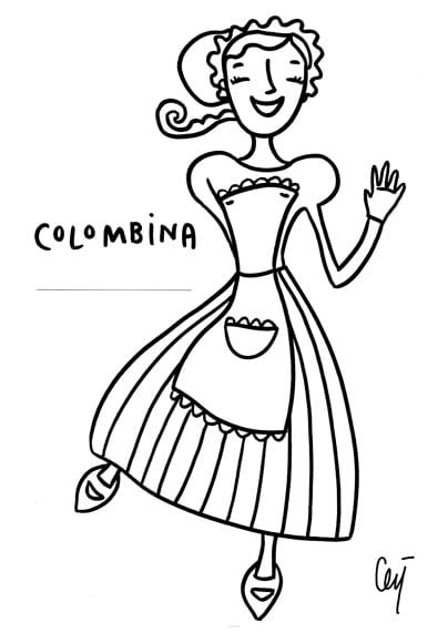 Carnevale 10 Disegni Da Colorare Delle Maschere Tradizionali
