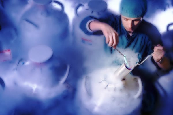 Congelamento e conservazione degli embrioni