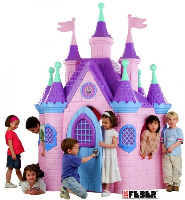 Casette per bambini for Case che sembrano castelli