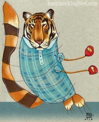 tiger-in-stripes