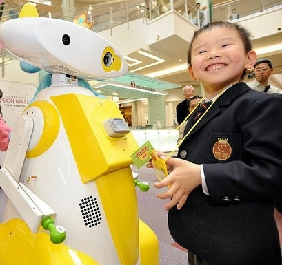 Baby-Sitter-Robot-di-Aeon-Co