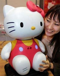 Baby-Sitter-Robot-di-Sanrio