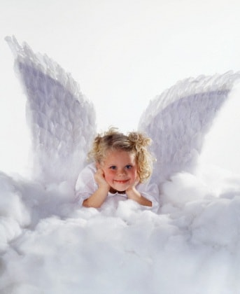 bambina-angelo