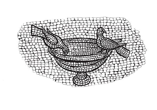 Disegno da colorare il mosaico for Disegni da colorare per adulti e ragazzi