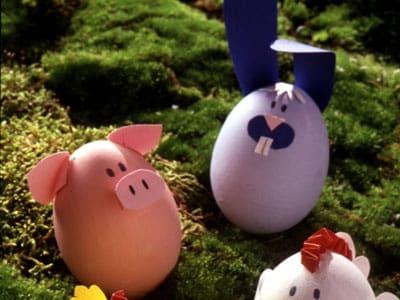 Uova di pasqua decorate con fantasia - Uova decorate per bambini ...