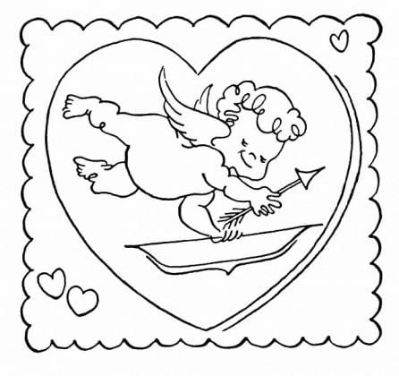 San Valentino 6 Disegni Da Colorare E Da Stampare Nostrofiglioit