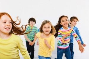bambini-correre