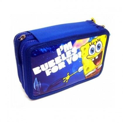 accademia-spongebob-130866-astuccio-3-zip-giallo-scuola-2013-2014