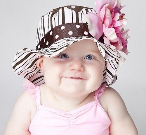 Favoloso 50 cappelli da sole DIVERTENTI per neonati e bambini - Nostrofiglio.it KB07