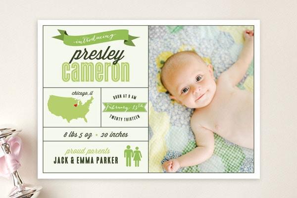 ... originali per annunciare la nascita di un bambino - Nostrofiglio.it