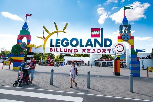 Legoland parco divertimenti in danimarca for Sede lego danimarca