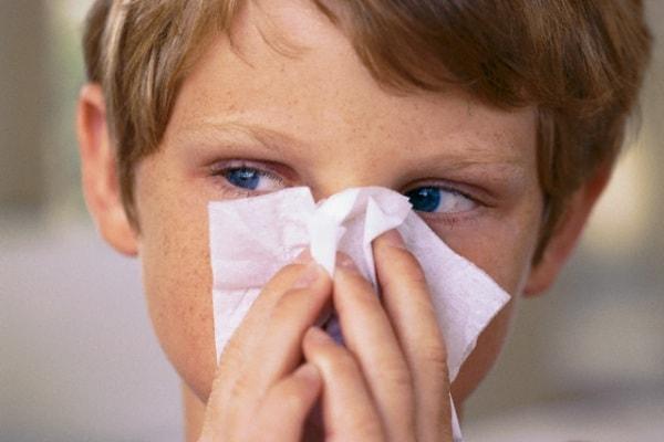 Il bambino è allergico agli acari della polvere