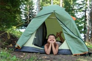 bambino-campeggio