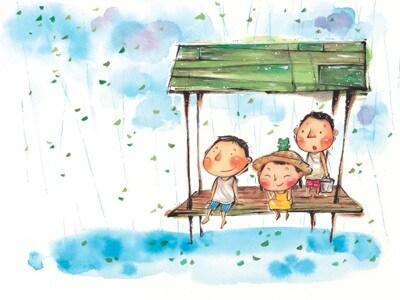 pioggia-bambini