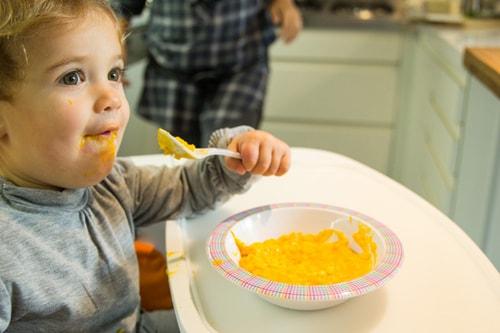 Ricetta: risotto alla zucca per bimbi