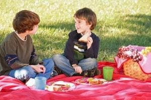bambini-picnic
