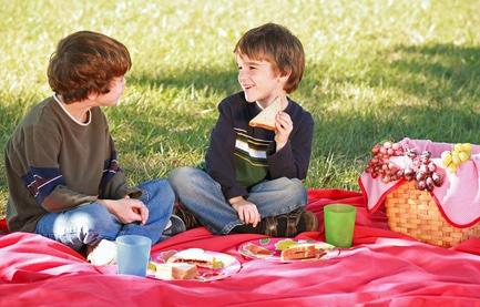 Merende, pizzette e focaccine per picnic e compleanni