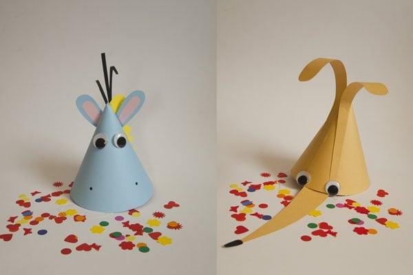 Carnevale cappelli fai da te per bambini. Di Focus Pico.  cappello_carnevale_bambini