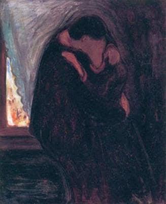 Edward-Munch-il-bacio
