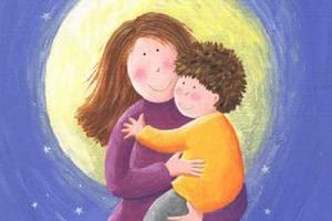 mamma-bambino-luna