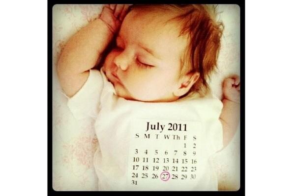 Bien connu 21 idee originali per annunciare la nascita di un bambino  EU85
