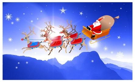A Che Ora Arriva Babbo Natale.Ma Quando Arriva Babbo Natale Seguite La Sua Slitta Online Nostrofiglio It