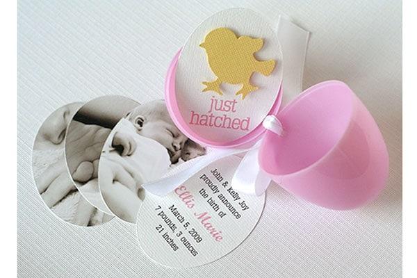 Favoloso 21 idee originali per annunciare la nascita di un bambino  VZ09