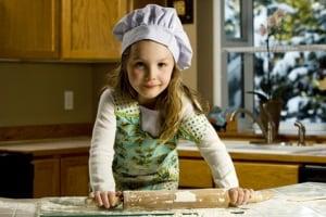bambina-cucinare