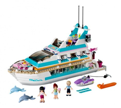 LEGO-Friends-Yatch