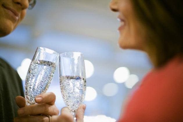 champagne-coppia