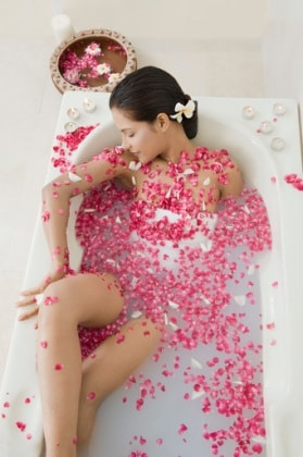 San valentino 20 idee regalo per donne incinte - Bagno caldo in gravidanza ...