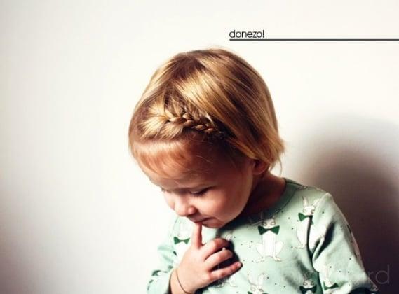 Eccezionale Bambine, 13 ADORABILI acconciature per le feste - Nostrofiglio.it UI29