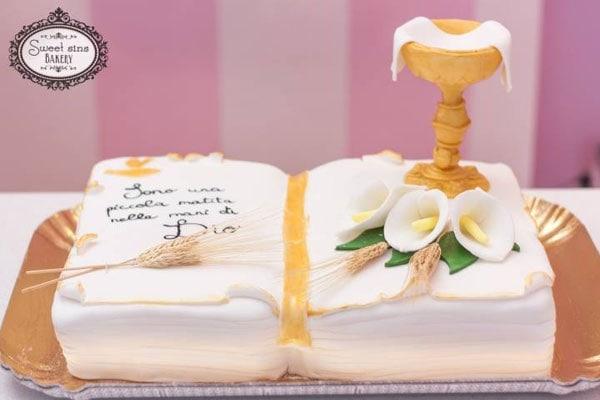 Prima comunione e cresima, 30 idee per la torta