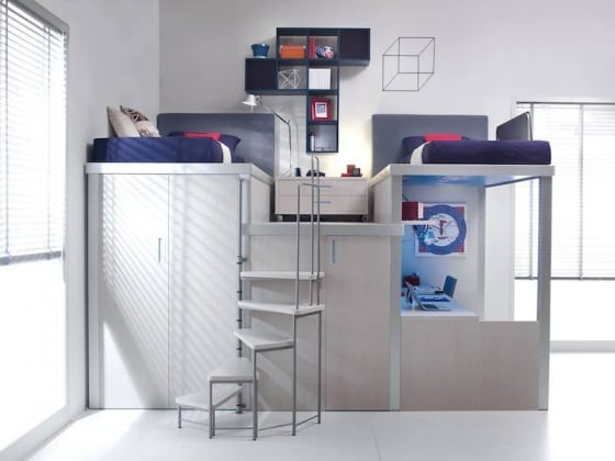 Come arredare una cameretta piccola 8 idee uniche e di - Idee per camerette piccole ...