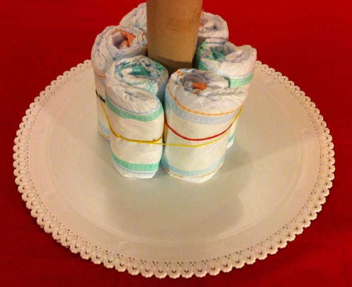 Préférence Come fare una torta di pannolini in meno di 30 minuti  OS03