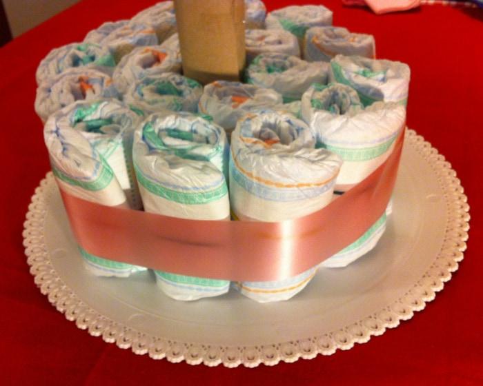 Molto Come fare una torta di pannolini in meno di 30 minuti  HM13