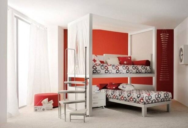 Come arredare una cameretta piccola 8 idee uniche e di - Dividere una camera in due ...
